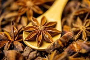 Anise: for difficult digestion